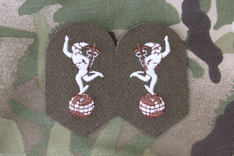 British Army Royal Signals SNCO Number 2 Badges