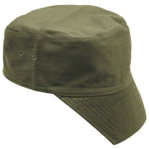 French Army F1 Style Olive Green Peaked Hat