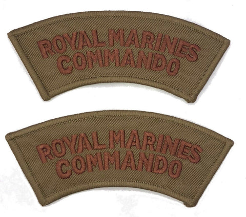 British Royal Marines Commando Shoulder Titles