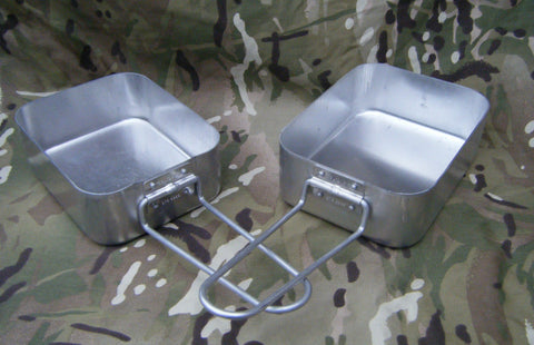 British Army Issue Mess Tin Set