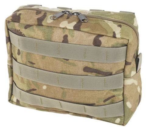 Marauder Zipped Utility Pouch Horizontal - MOLLE