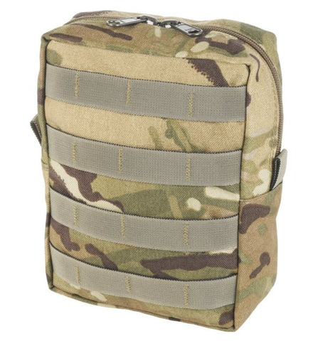Marauder Zipped Utility Pouch Vertical - MOLLE