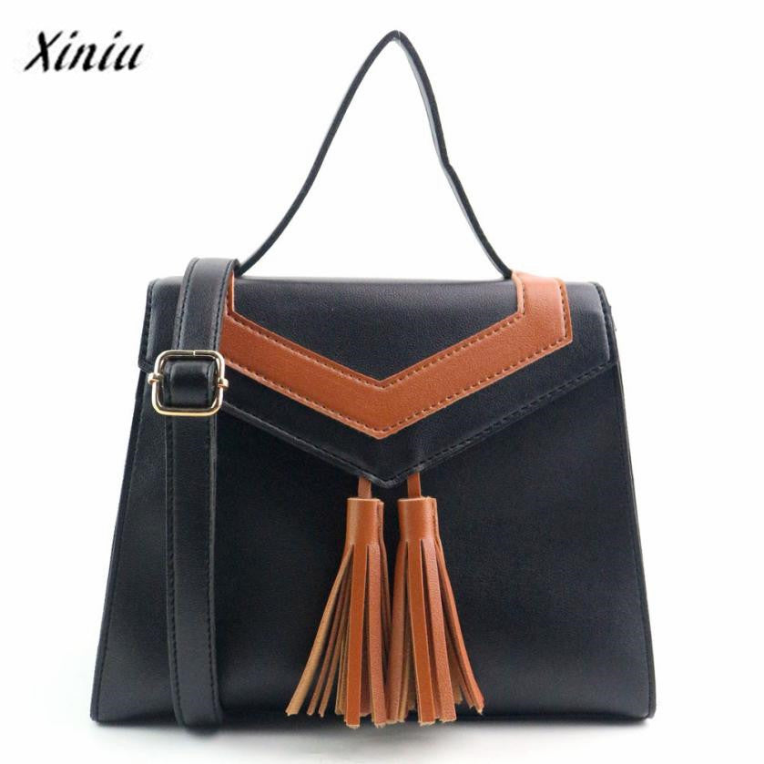 Tassel Handbag by Almira