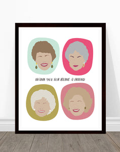 Golden Girls - Thank you For Being a Friend