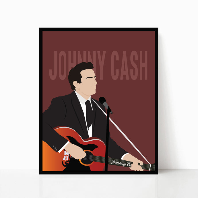 Johnny Cash Print 2