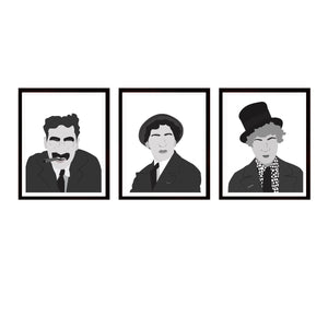 Marx Brothers Set of Three