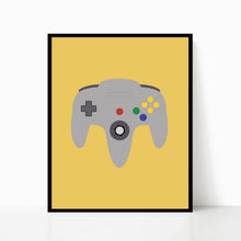 Retro Video Game Controllers Set