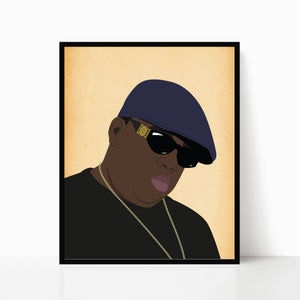 The Notorious B.I.G. Print