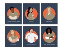 Orange is the New Black - Set of 6