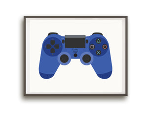 Video Game Controller Prints - Playstation Edition