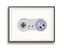 Video Game Controller Prints (White)