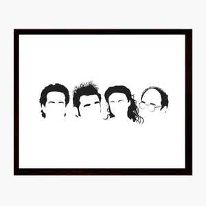 Seinfeld Silhouettes