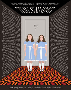 The Shining Minimalist Movie Poster