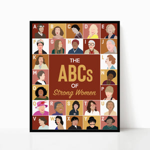 The ABCs of Strong Women