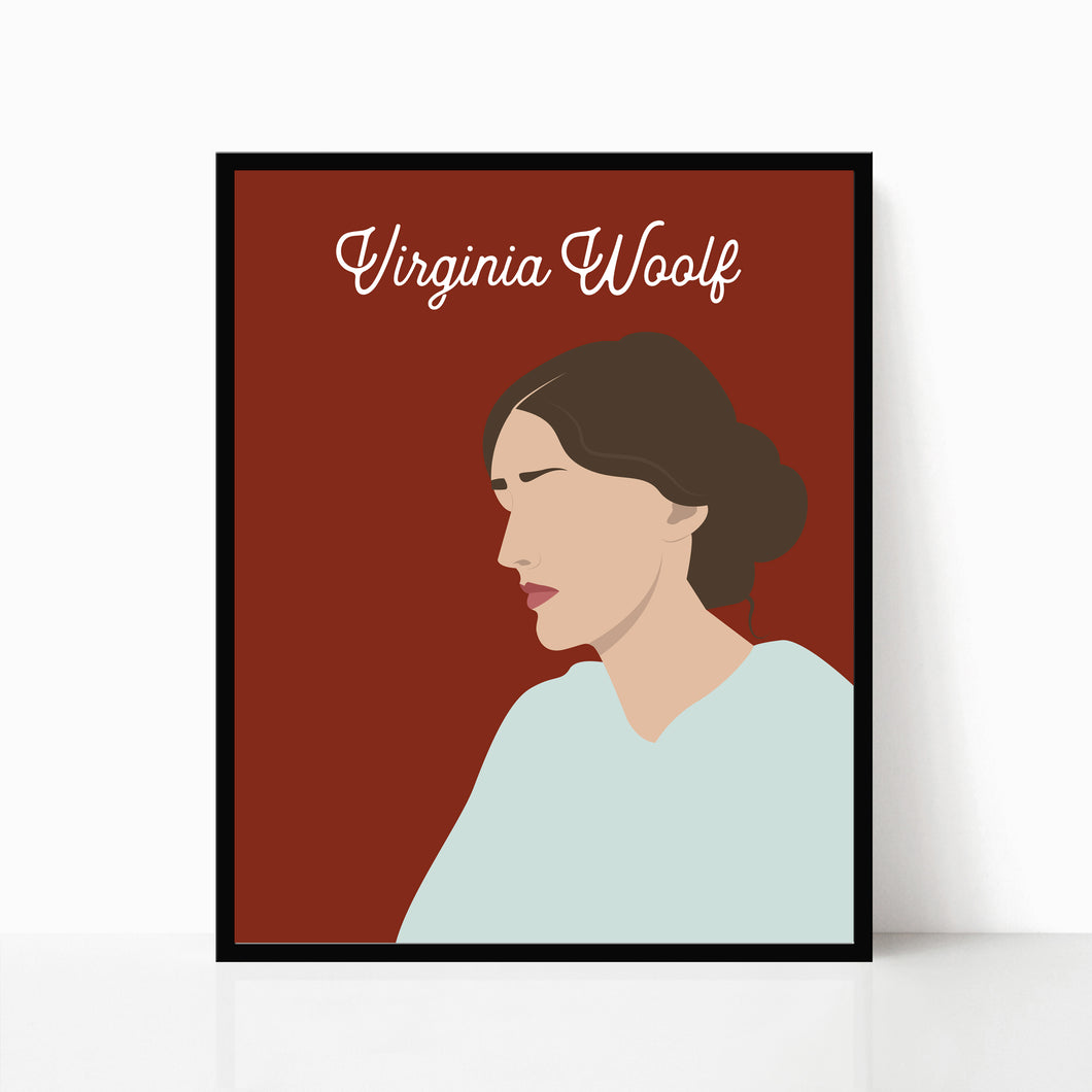 Virginia Woolf Print