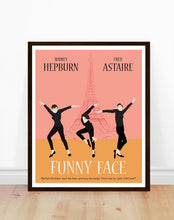 Funny Face Minimalist Movie Poster