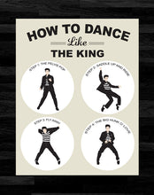 Elvis Presley - How To Dance Like The King Poster