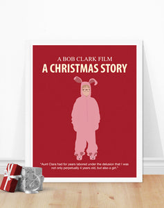 A Christmas Story Poster - Ralphie