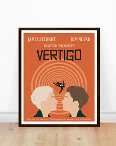 Vertigo Movie Poster (Alfred Hitchcock)
