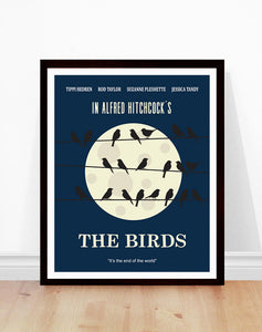 The Birds Minimalist Poster