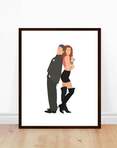 Pretty Woman Minimalist Print