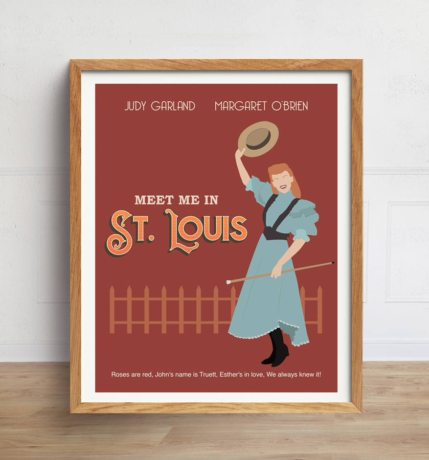 Meet Me in St. Louis Minimalist Movie Poster