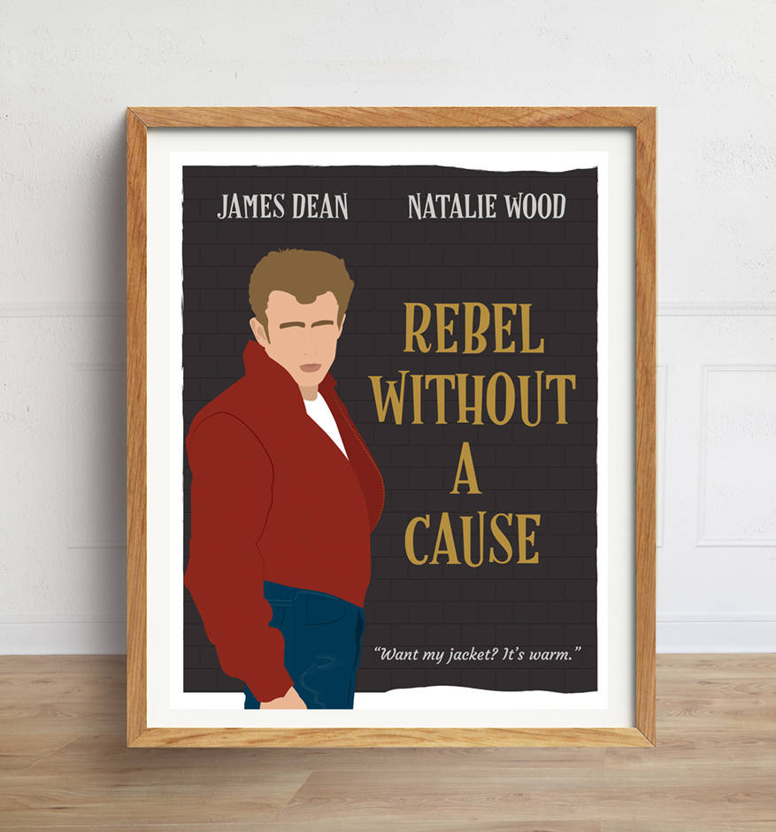 Rebel Without a Cause Minimalist Poster
