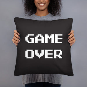 Game Over Pillow