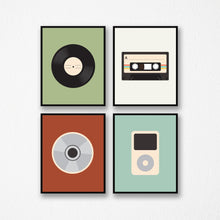 Retro Music Prints