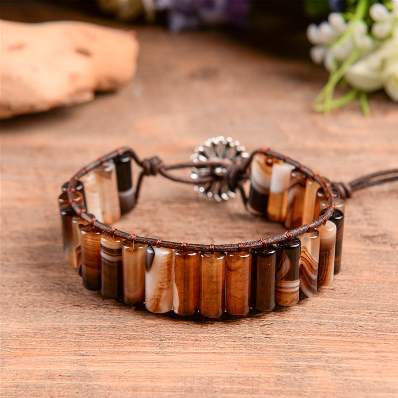 Dual Agate™ Natural Stone Bracelet