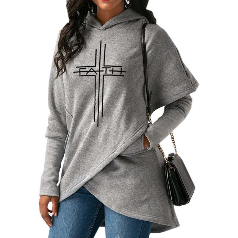 Faith & Cross Stylish Hoodie