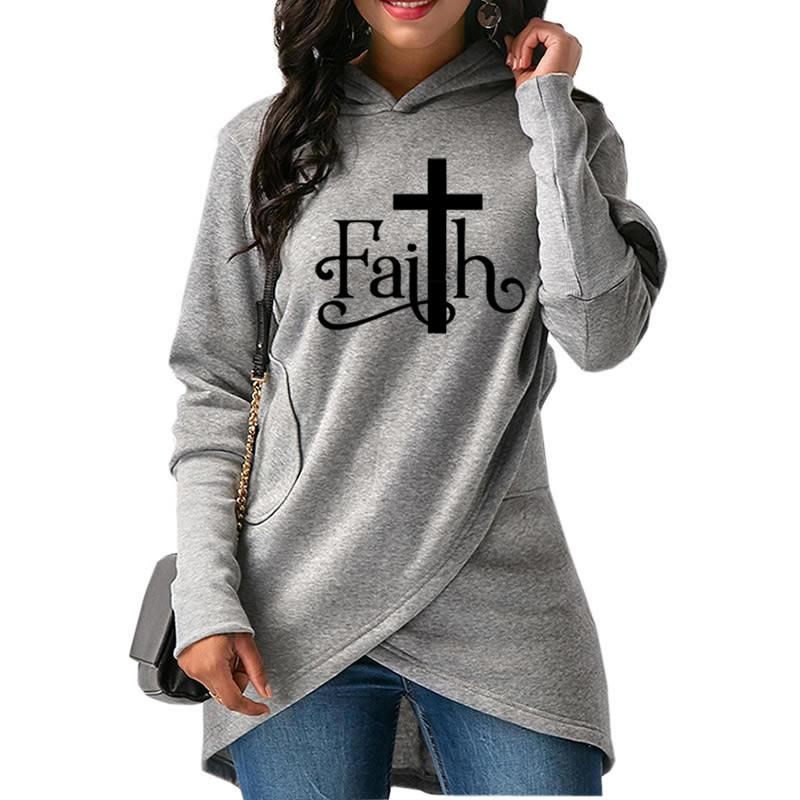Faith & Cross Hoodie