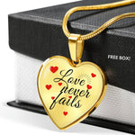 Love Never Fails - Necklace
