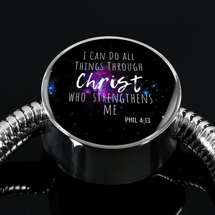 I Can Do All Things Through Christ - Bracelet