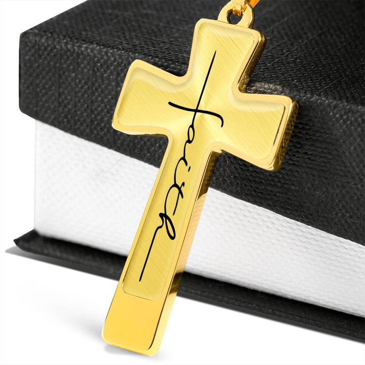 Faith - Cross Necklace