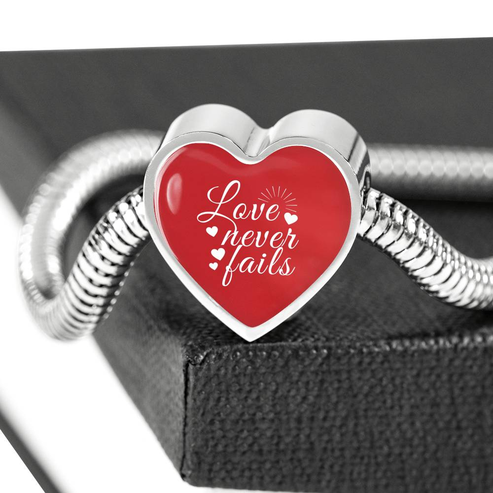 Love Never Fails - Bracelet
