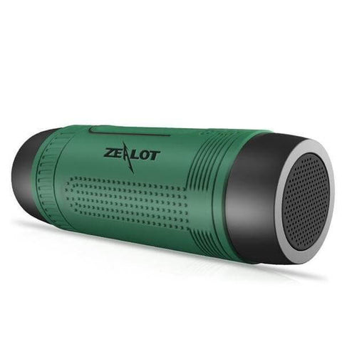 Image of Waterproof Bluetooth Speaker LED Flashlight & Power Bank