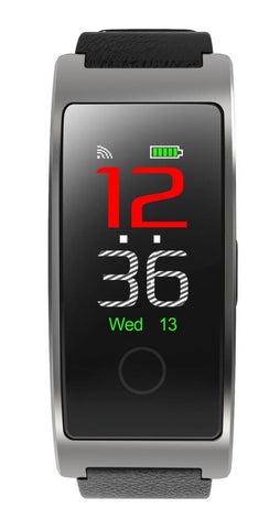 Image of Blood Pressure & Heart Rate Monitor Wrist Watch