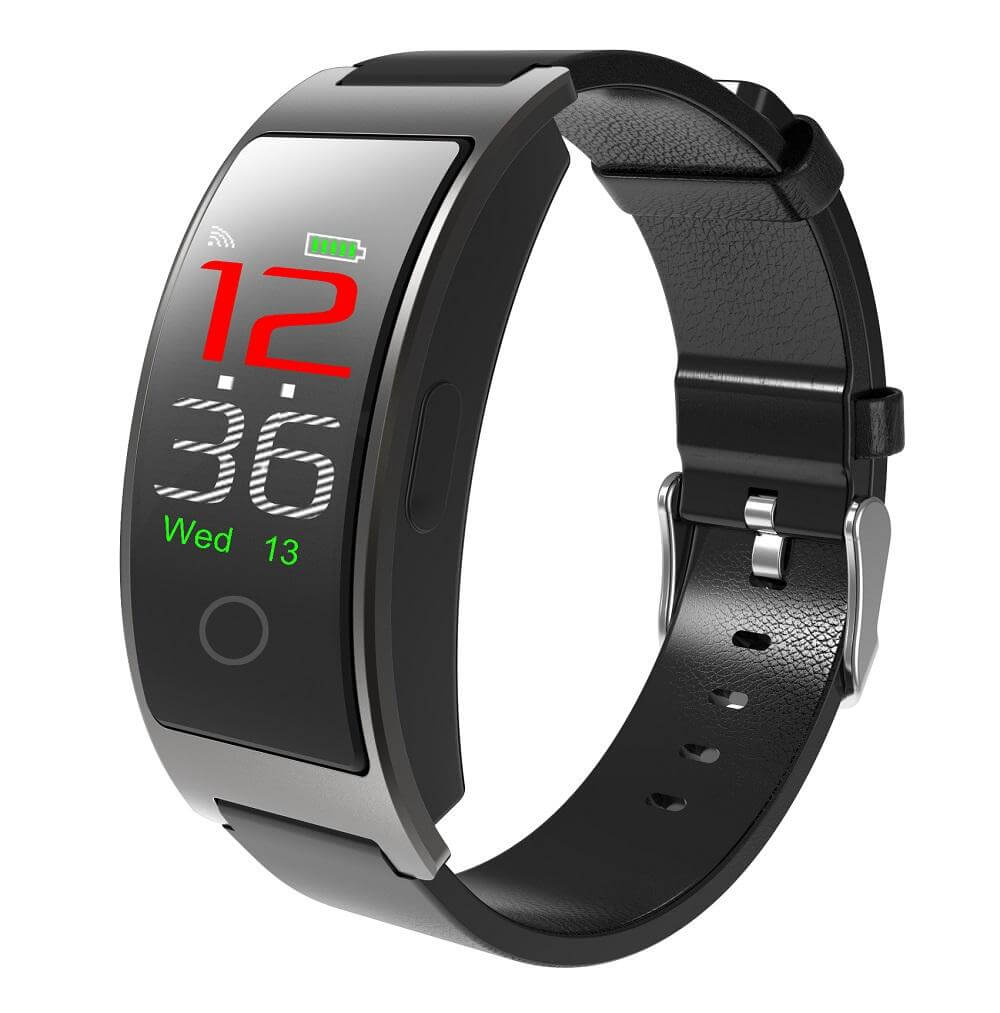 Blood Pressure & Heart Rate Monitor Wrist Watch