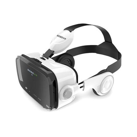 Image of Cardboard Leather 3D Helmet Virtual Reality Vr Glasses Headset Stereo Box China / Only Z4