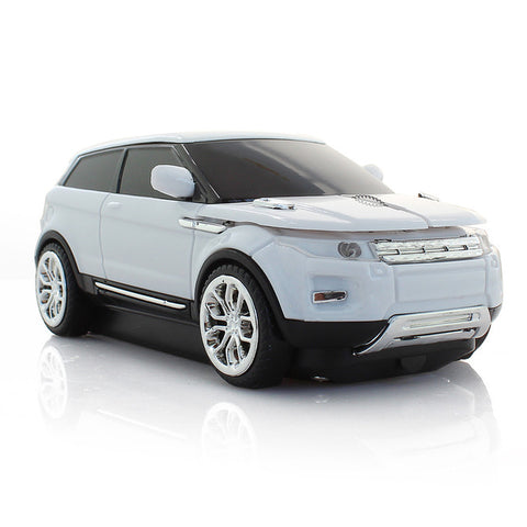 Image of White Sport Car Mouse