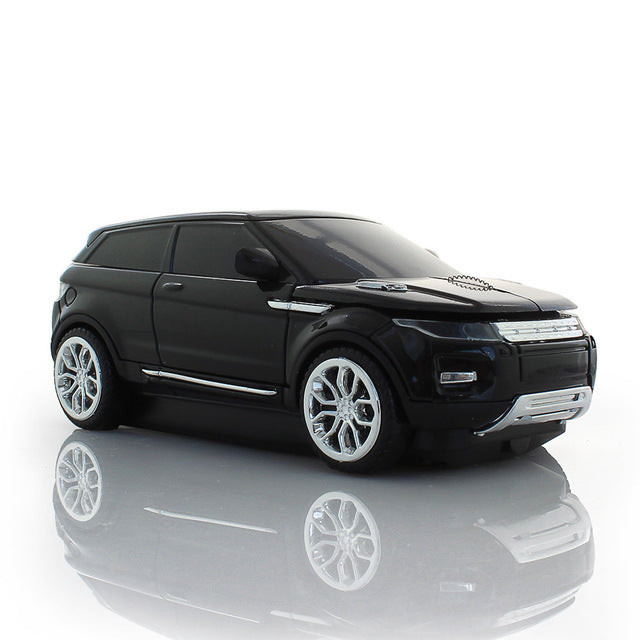 Black Sport Car Mouse