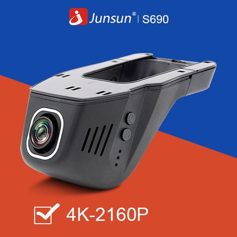 Image of Junsun 4K WiFi Dash Cam Night Version