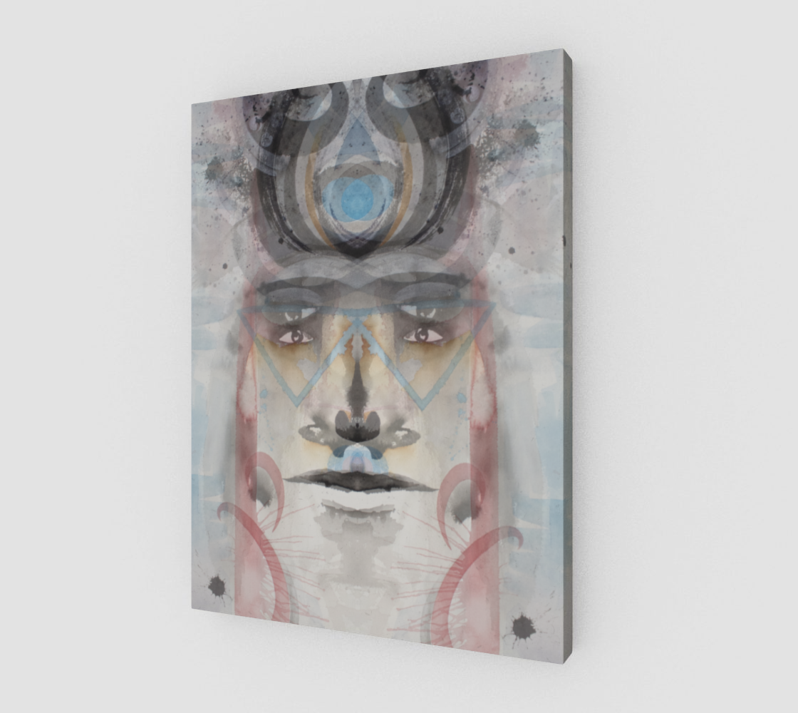 wounded healer hybrid (canvas print)