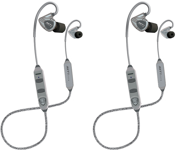 2 PACK - StrikePRO™ HT, IN-EAR Earbuds with Hear Through Technology