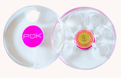 PUK Glass Pipe (Frosted or Clear)
