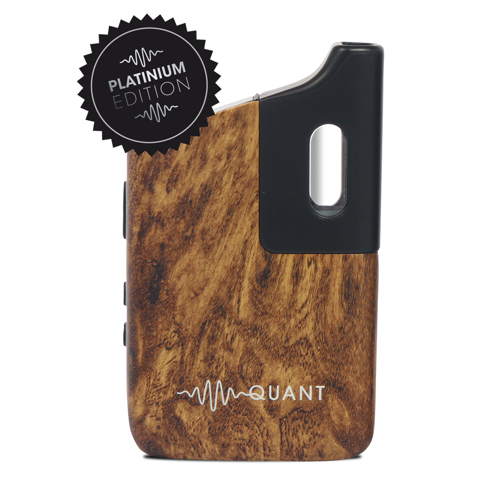 Quant Vaporizer - Wood Finish