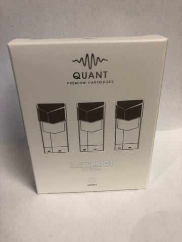 Quant Wave Pods - 3 Pack Fillable Disposable Pods