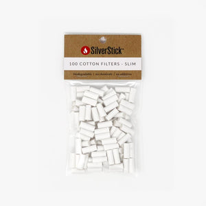 Silver Stick 100 COTTON FILTERS - SLIM