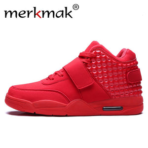 Merkmak 2016 Luxury Hip Top Casual Men shoes